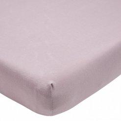 Meyco hoeslaken ledikant lilac